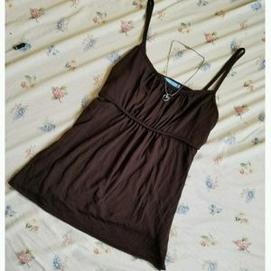 Blu Heaven | Dark Brown Tank Top
